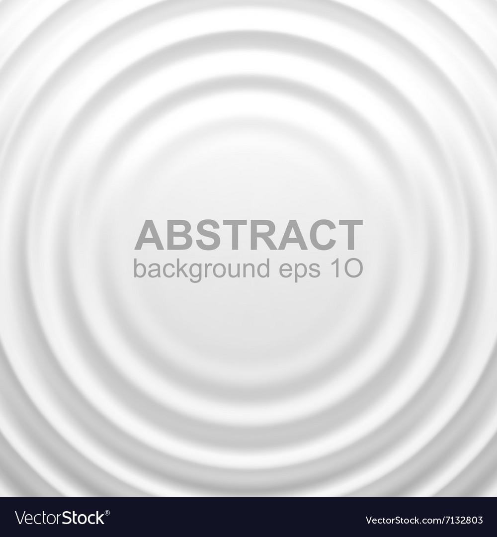 White rippled background vector image