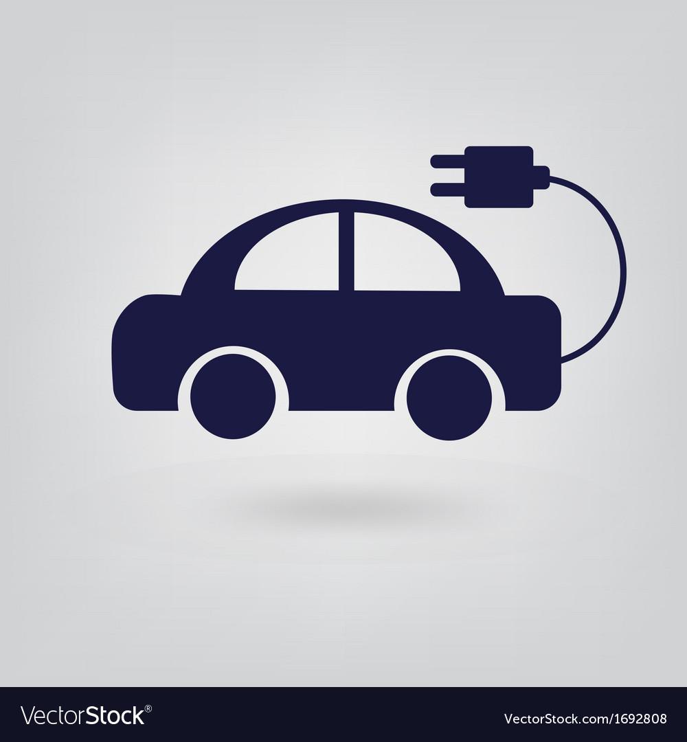 Energy icon car vector image