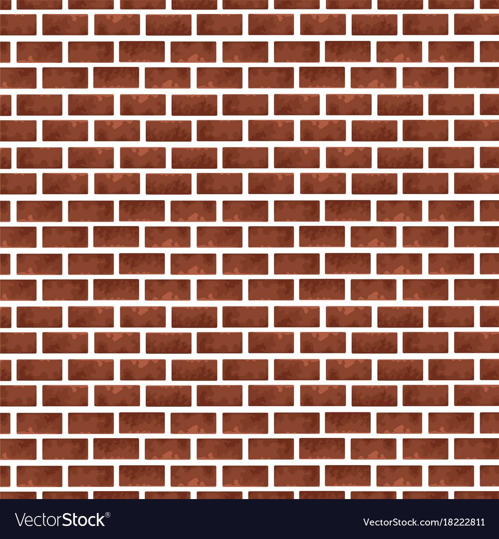 Bricks wall background vector image