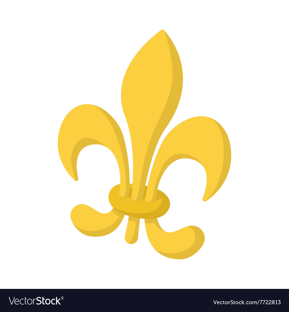 Royal french lily icon cartoon style royalty free vector royal french lily icon cartoon style vector image biocorpaavc Gallery