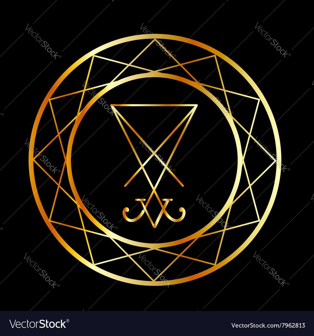 Sigil of lucifer symbol of satanism royalty free vector sigil of lucifer symbol of satanism vector image biocorpaavc