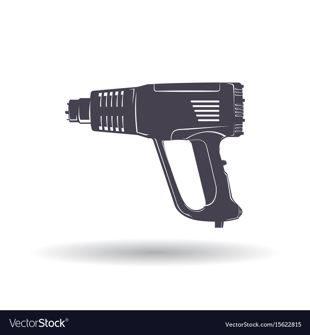 Industrial hair dryer vector image