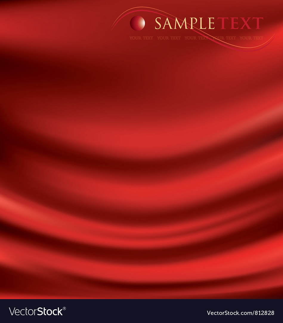 Satin background vector image