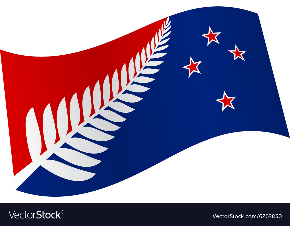 New Zealand Flag Royalty Free Vector Image VectorStock - New zealand flags