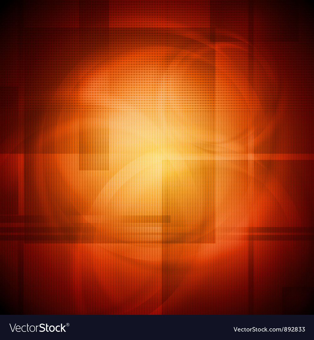 Red abstract design vector image