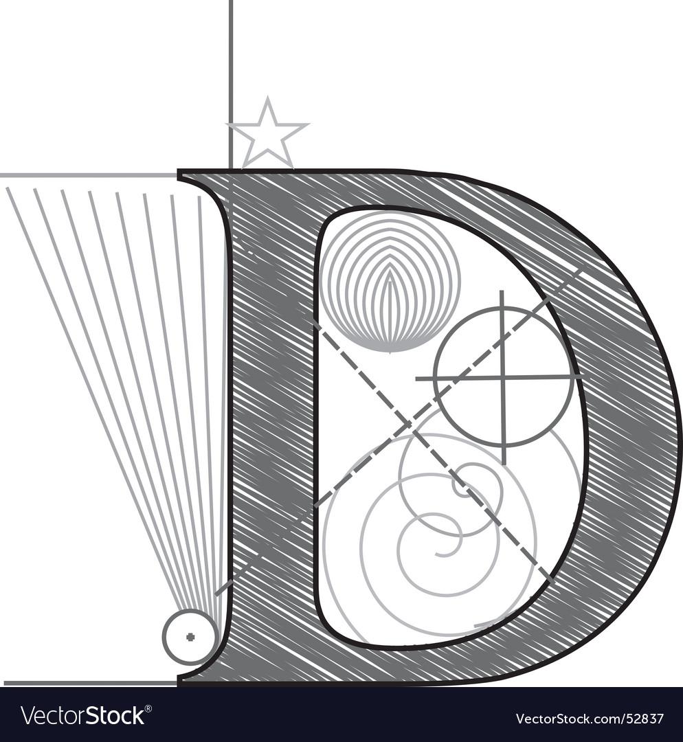D vector image
