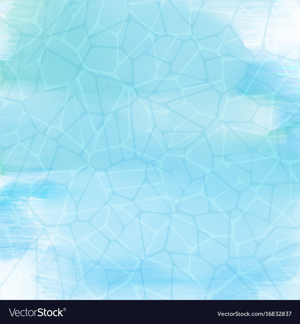 Watercolour water texture vector image
