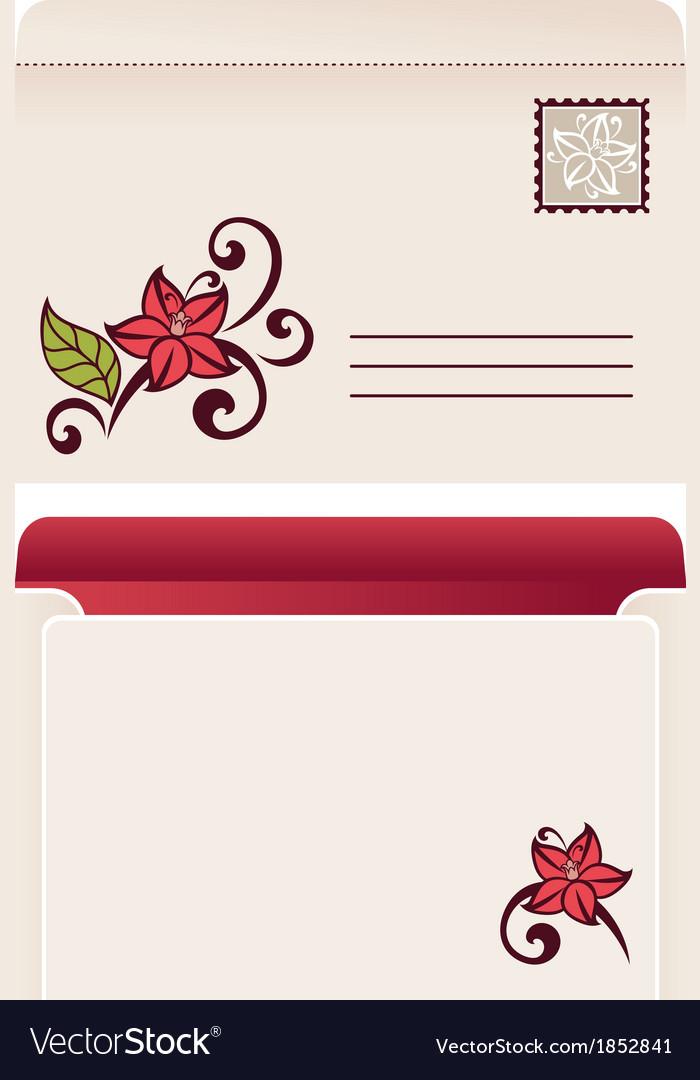 Flourish invitation card royalty free vector image flourish invitation card vector image stopboris Gallery