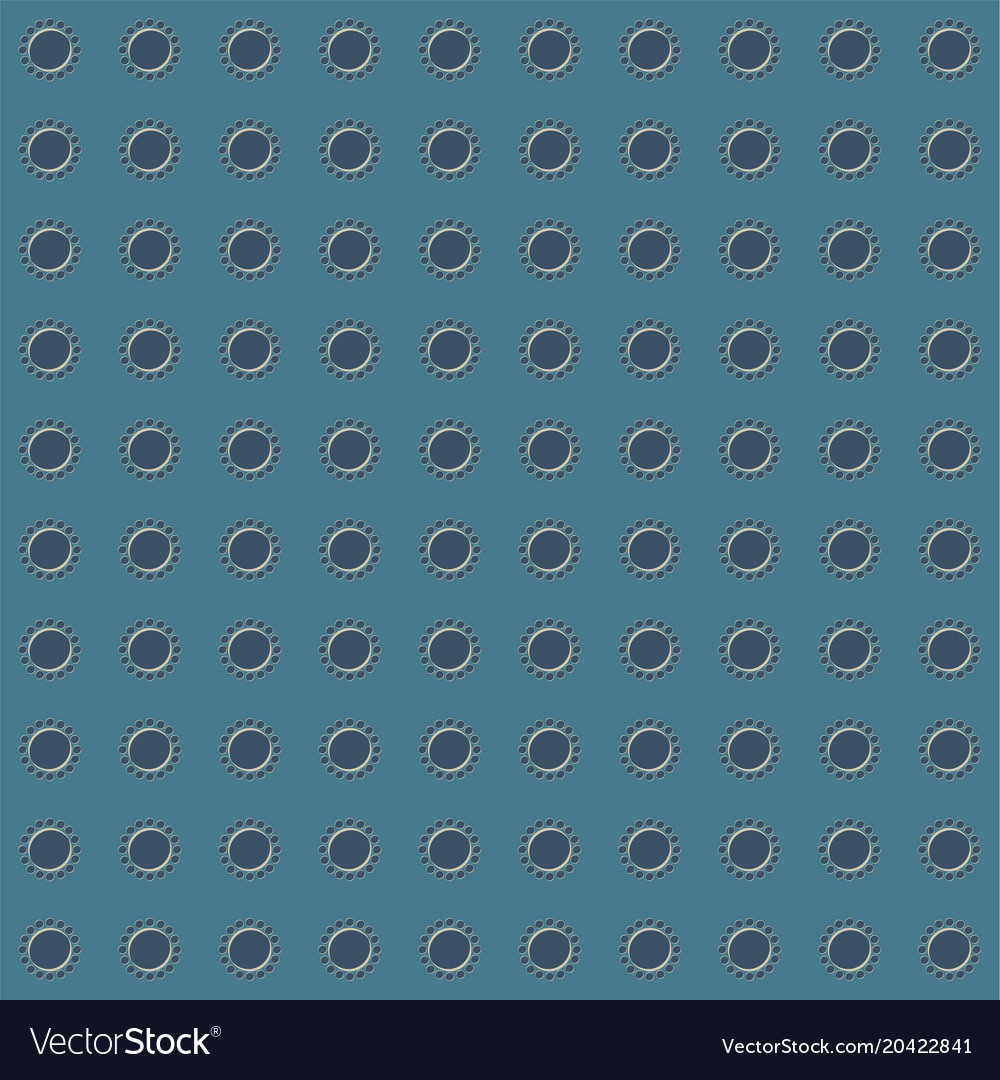 mosaic seamless pattern with circles and dots