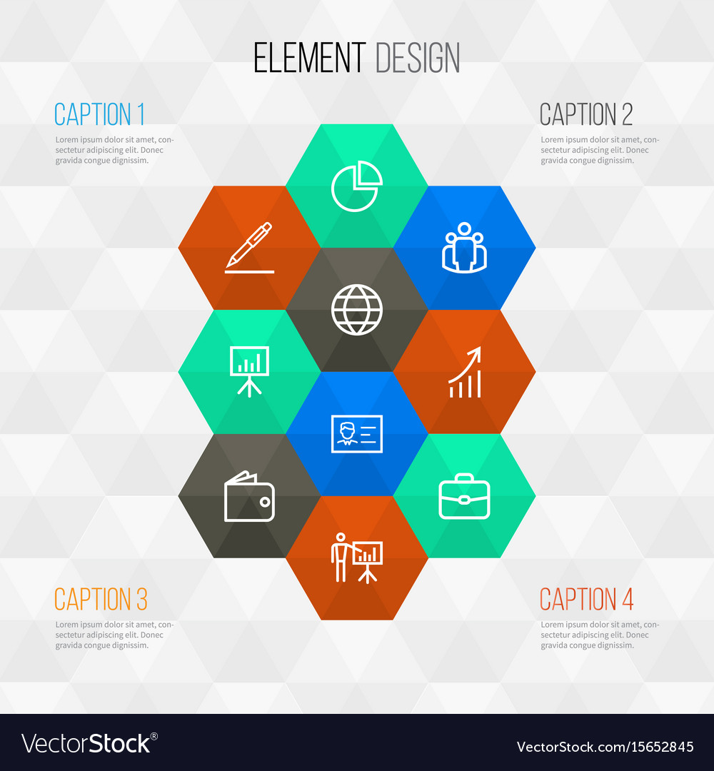 Trade outline icons set collection of whiteboard vector image