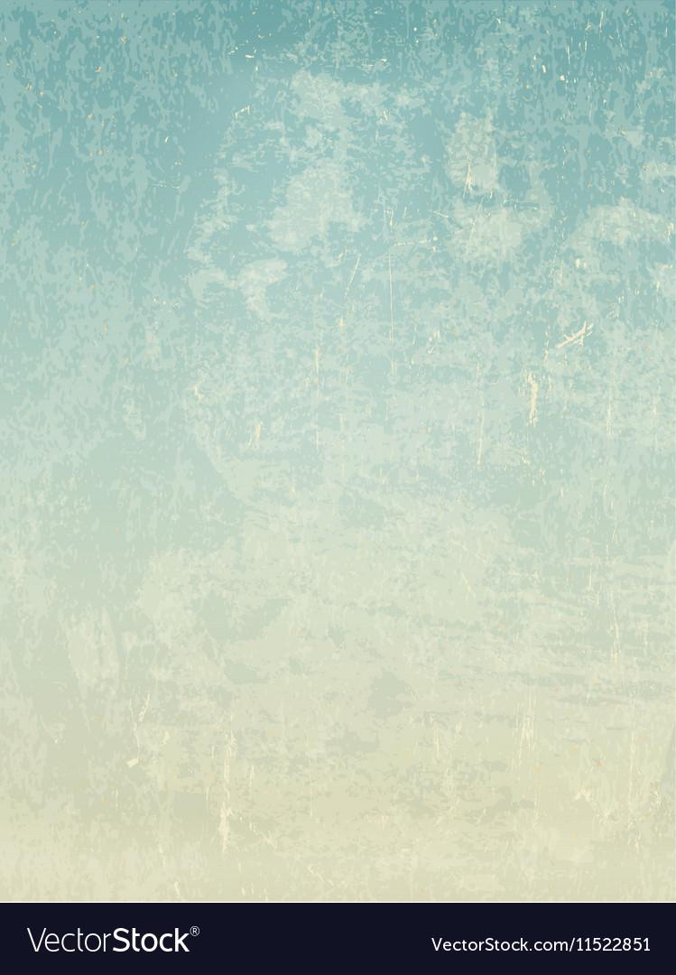 Grunge vintage old paper background For retro vector image