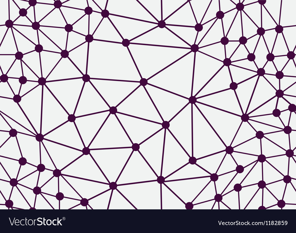 Seamless grid background vector image