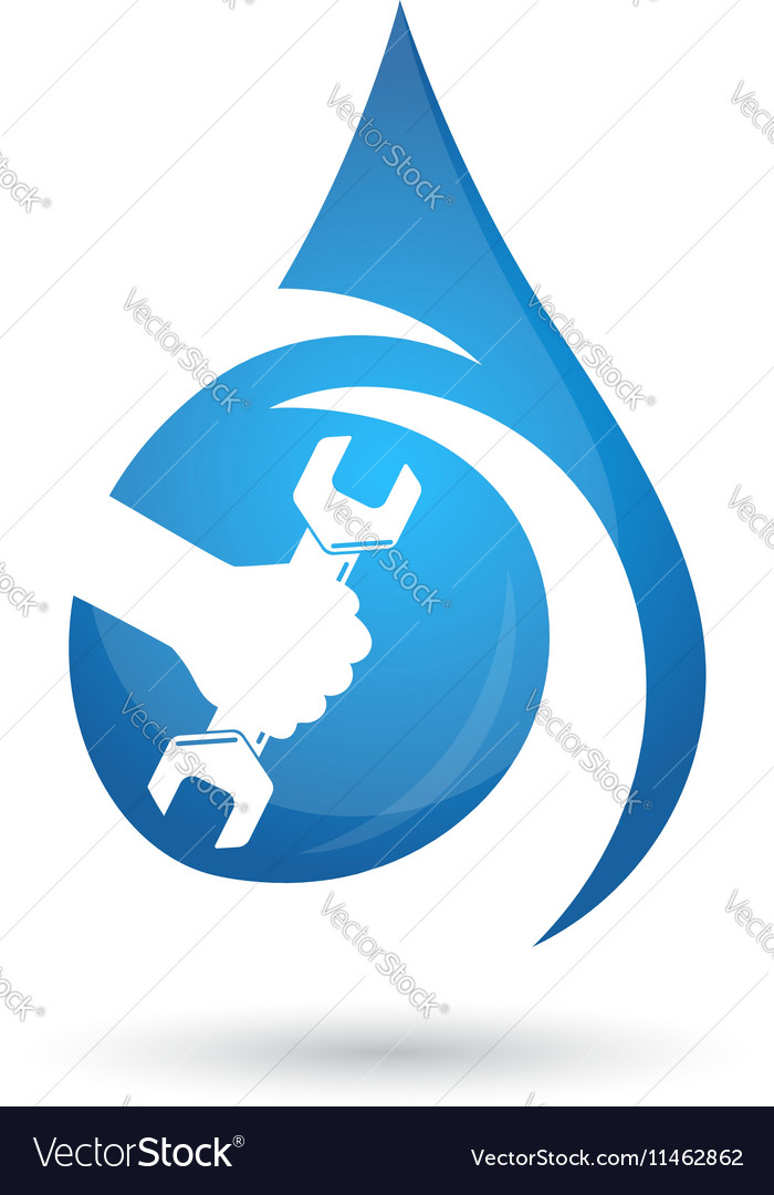 Service plumbing and sanitary ware vector image