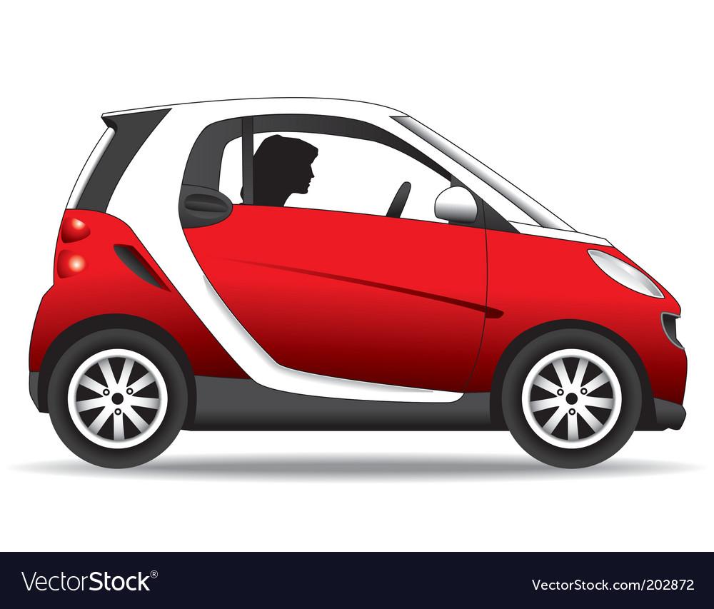 Small car vector image