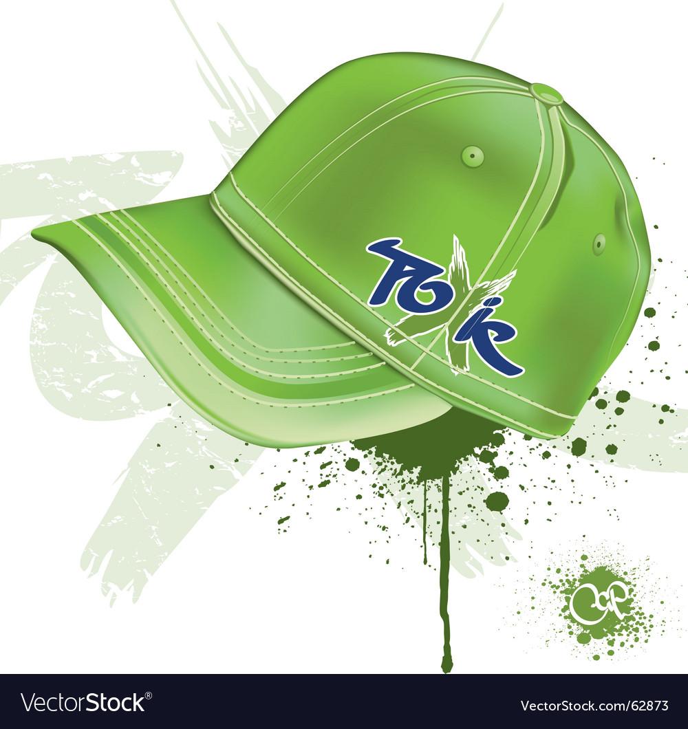 Toxic cap vector image