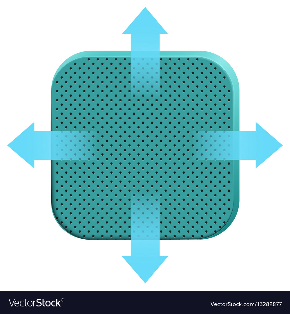 Icons porous soft foam material vector image