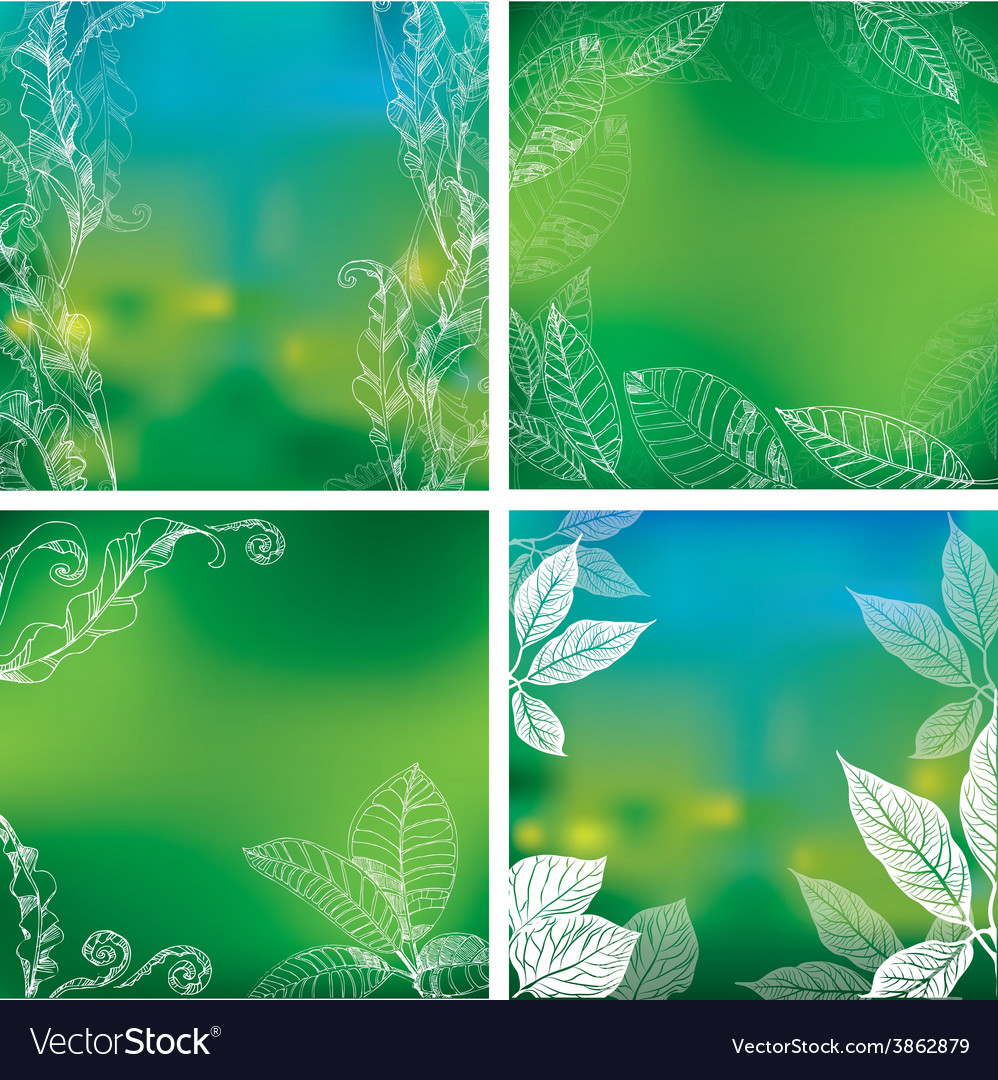 Background natural 04 vector image