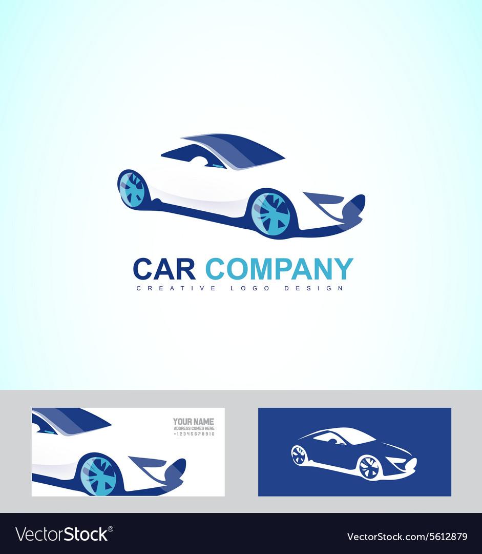 Sports fast race car logo royalty free vector image sports fast race car logo vector image biocorpaavc