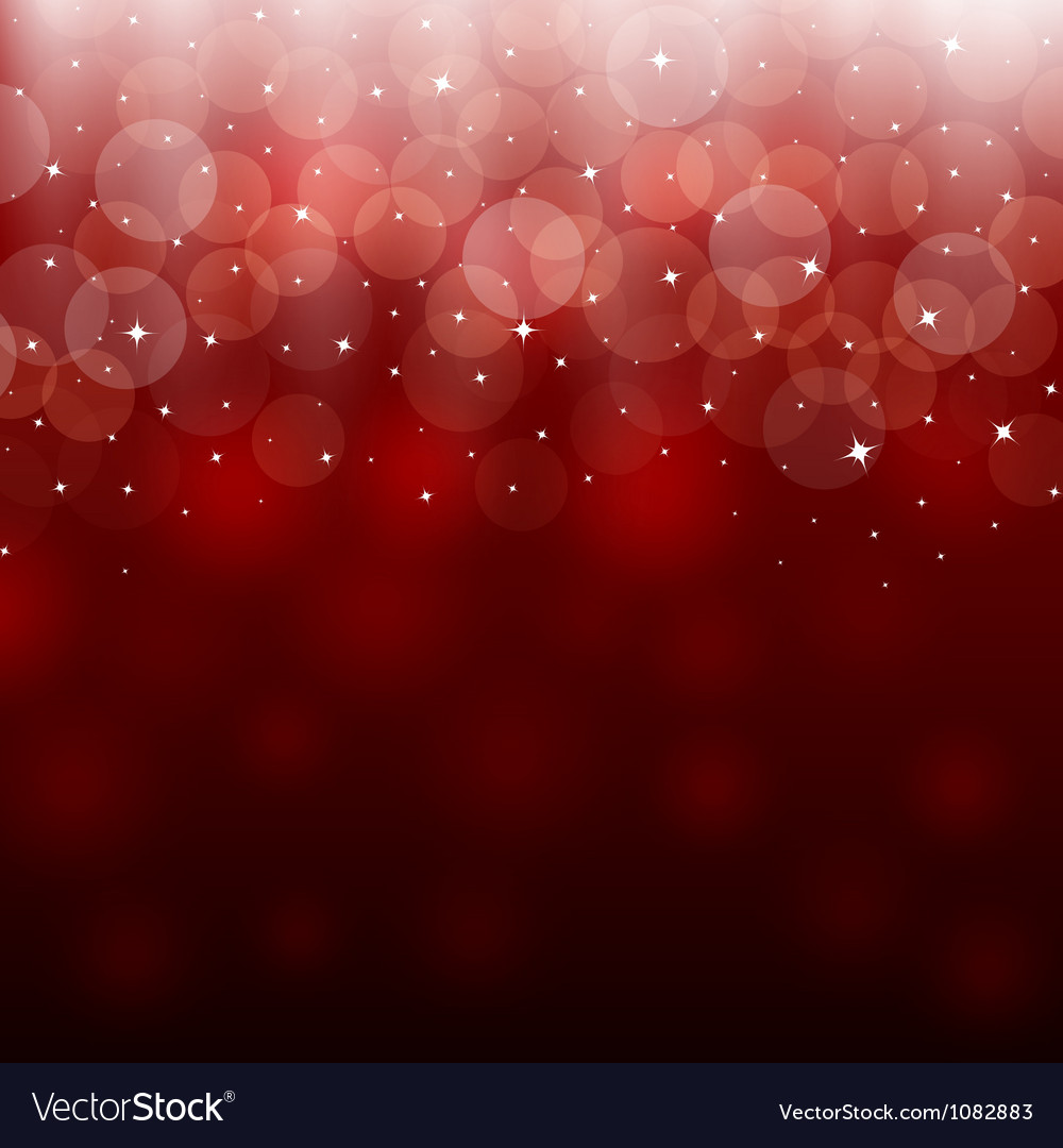 Light red holiday abstract background vector image