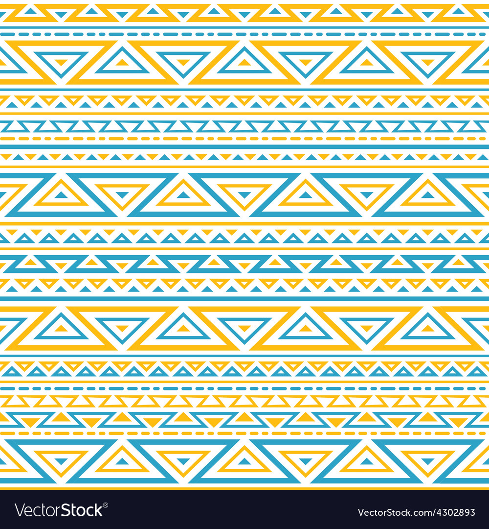 Light seamless geometrical background vector image