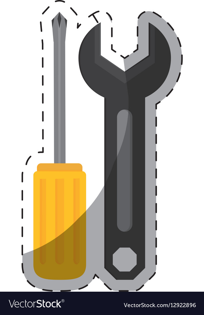 Technical workshop stock icon vector image