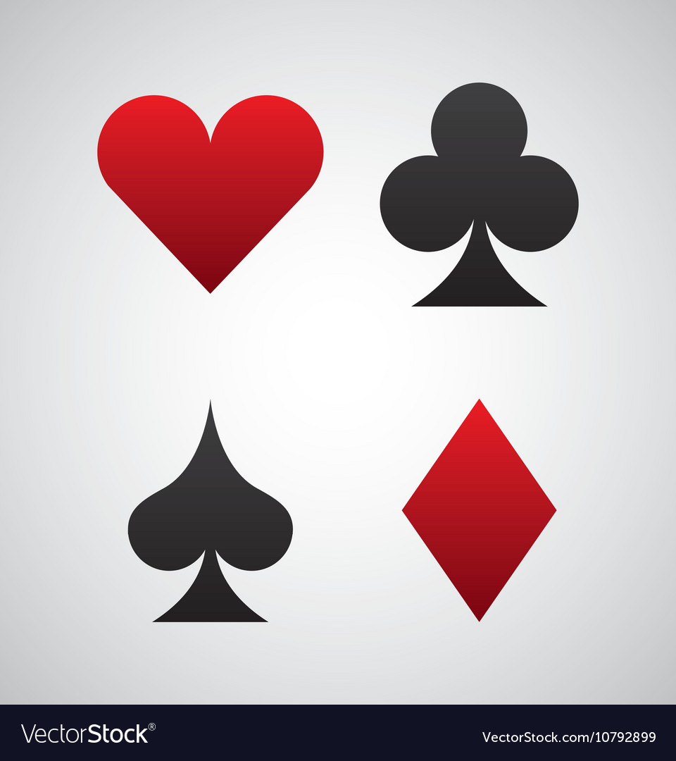 Poker cards game casino Royalty Free Vector Image - VectorStock Poker cards game casino vector image on VectorStock - 웹