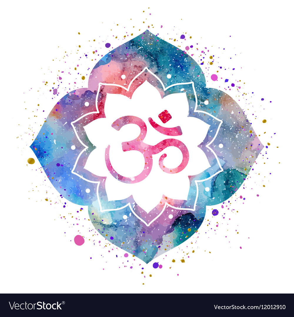 Om lotus flower gallery flower decoration ideas om sign in lotus flower royalty free vector image om sign in lotus flower vector image izmirmasajfo Image collections