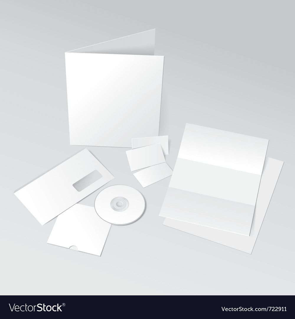 Id template vector image