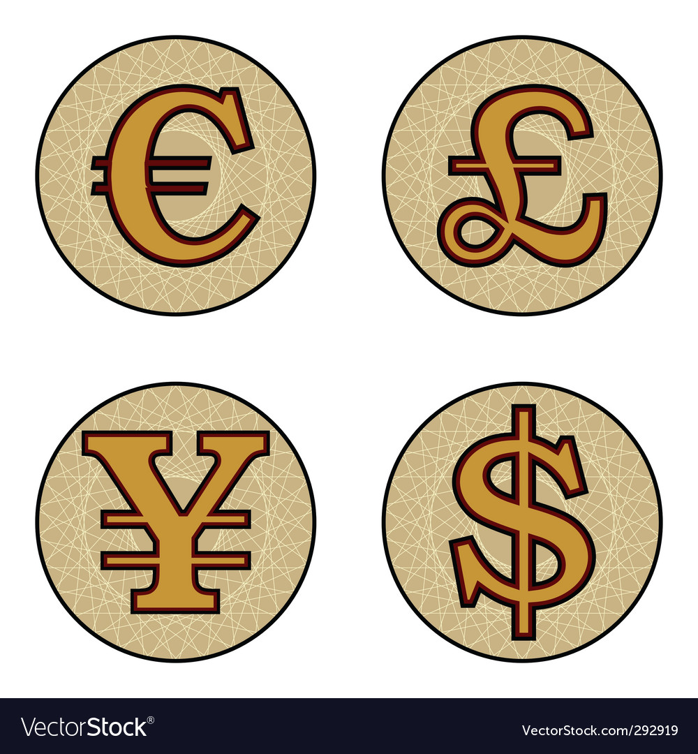 Currency symbols royalty free vector image vectorstock currency symbols vector image biocorpaavc Images