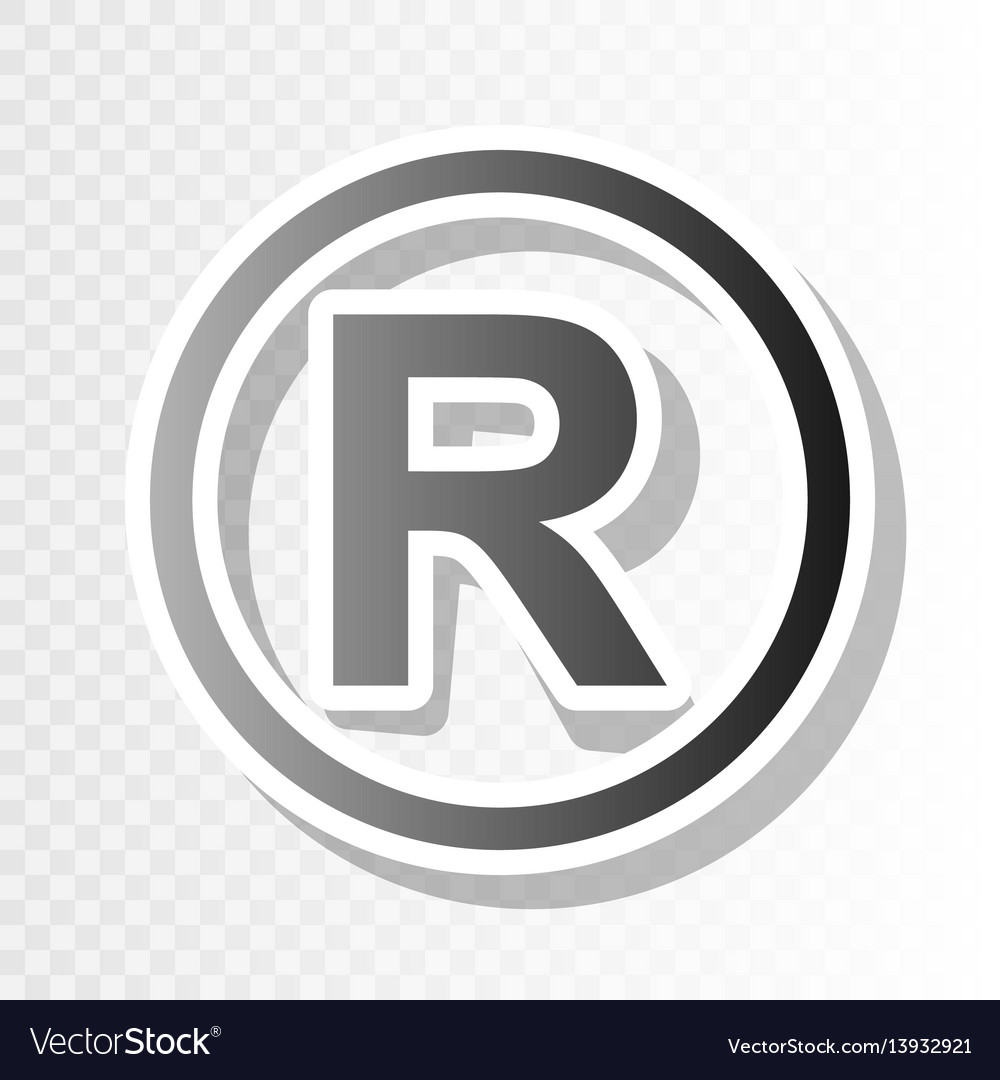 Registered trademark sign new year royalty free vector image registered trademark sign new year vector image biocorpaavc Gallery