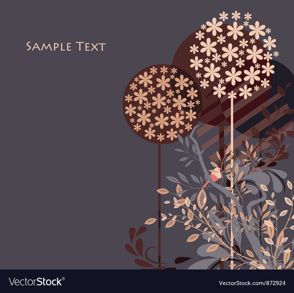 floral ornament design