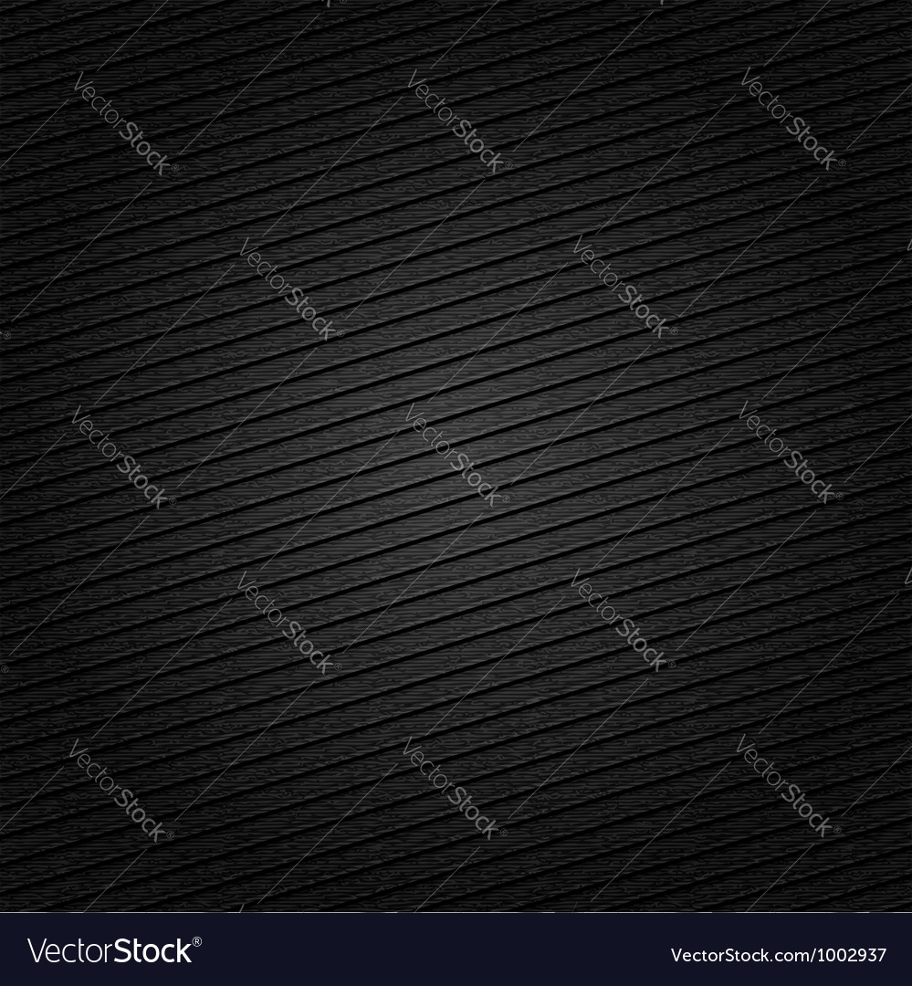 Striped metal surface for dark background Vector Image