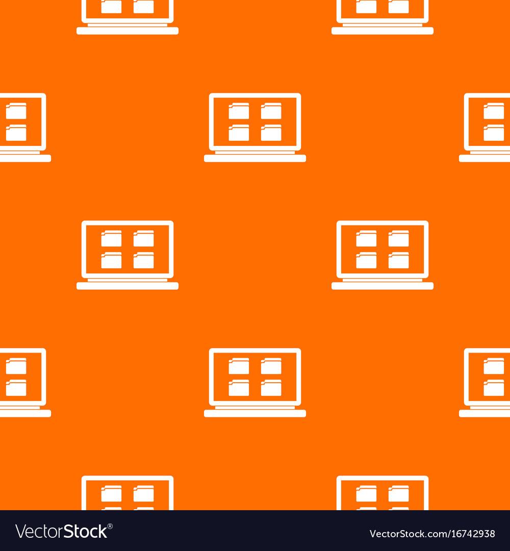 Desktop pattern seamless vector image