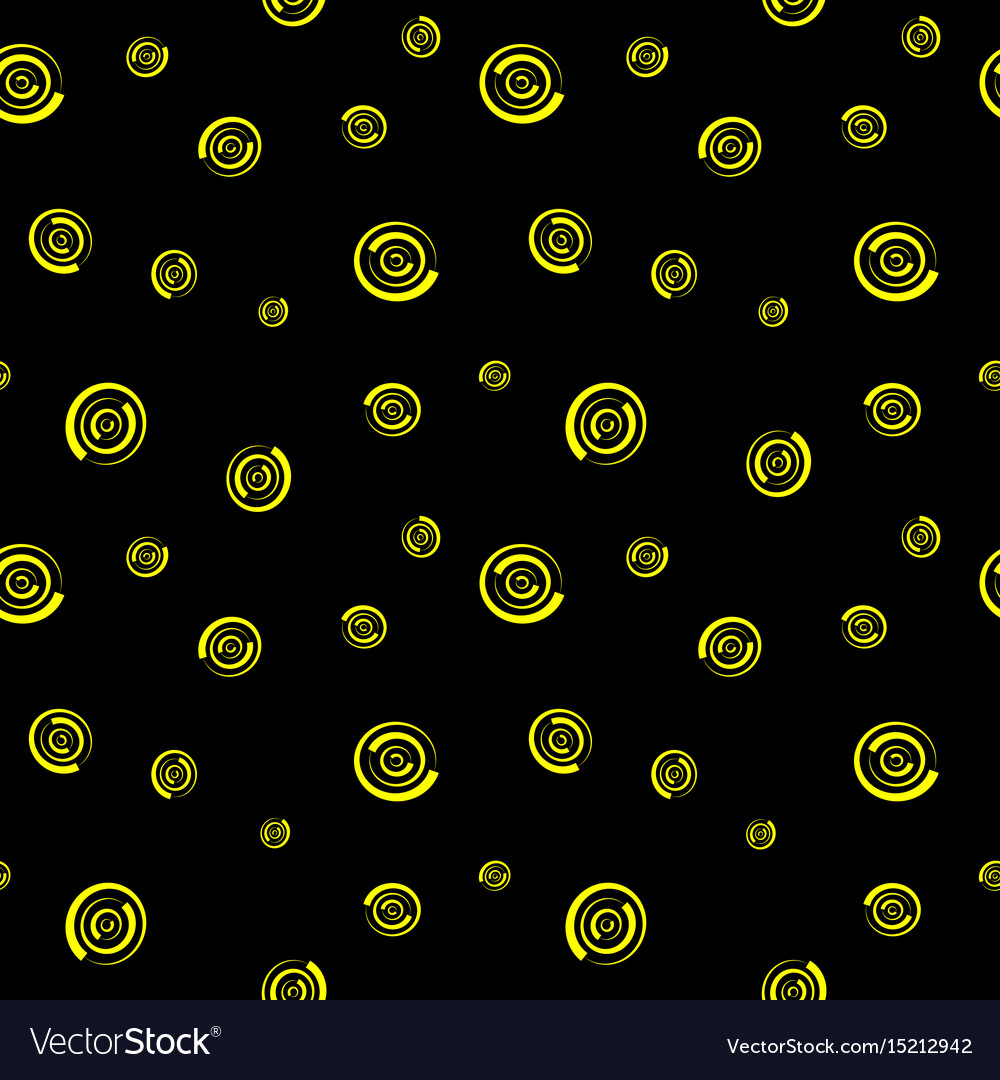 Polka dot chaotic seamless pattern 709 vector image
