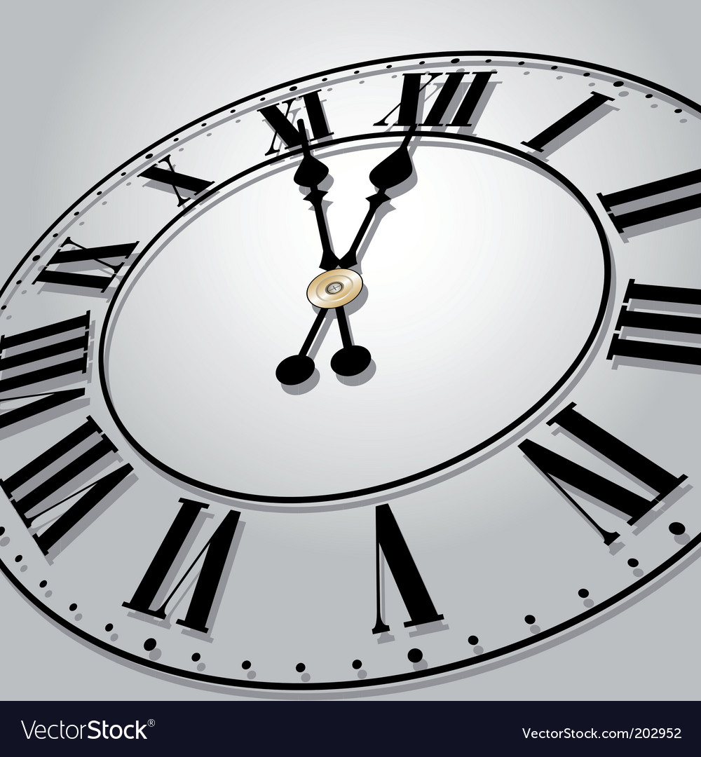 Time concept vector image