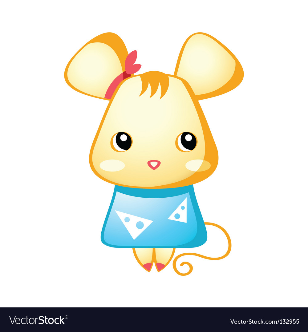 Cute mouse vector art - Download Animated vectors - 132955