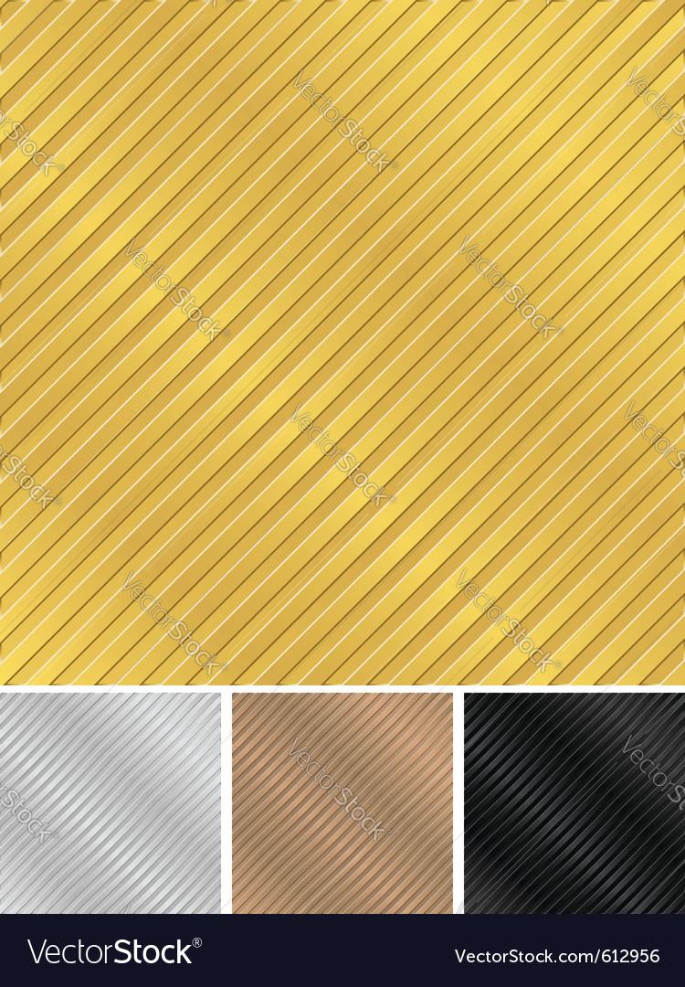 Metal backgrounds vector image