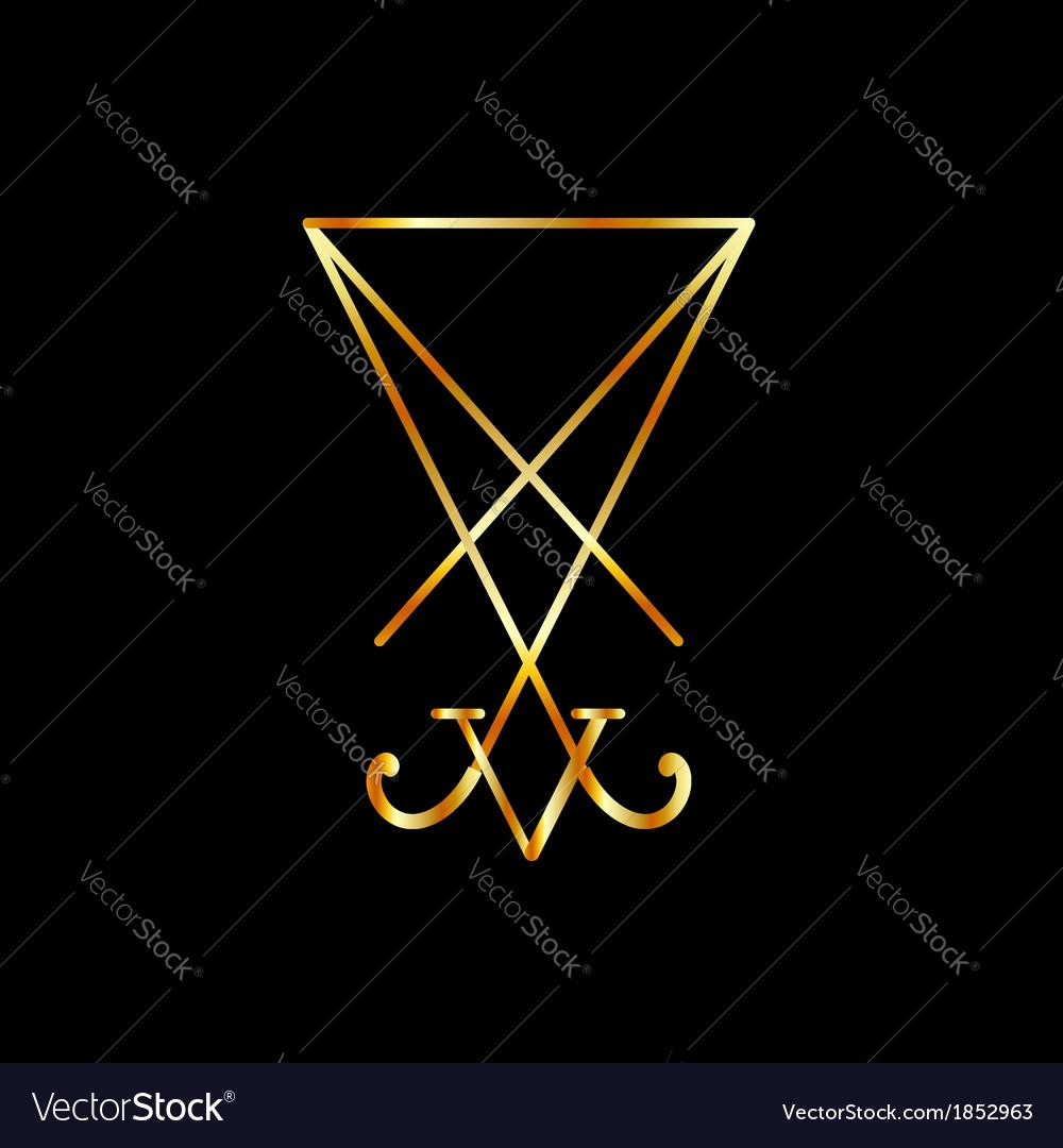 Sigil of lucifer a symbol of satanism royalty free vector sigil of lucifer a symbol of satanism vector image biocorpaavc