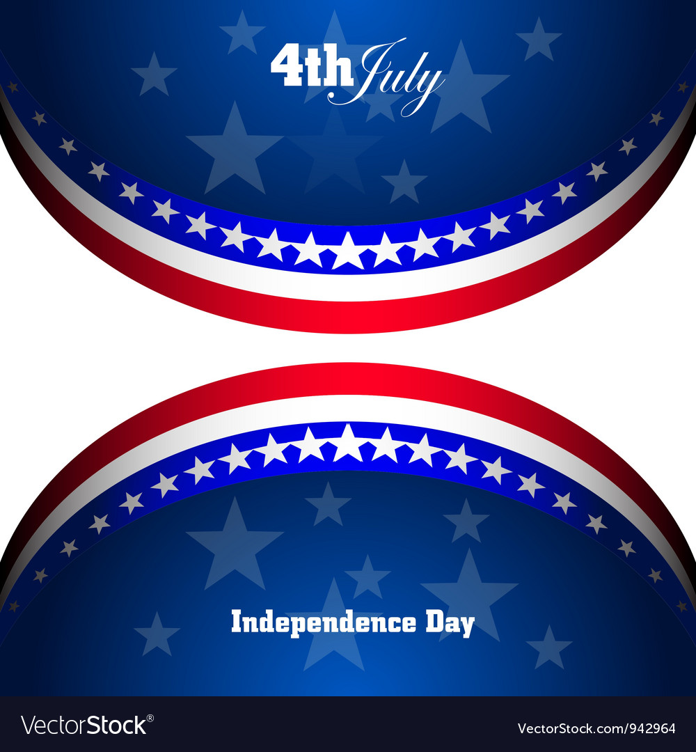 USA symbolic vector image