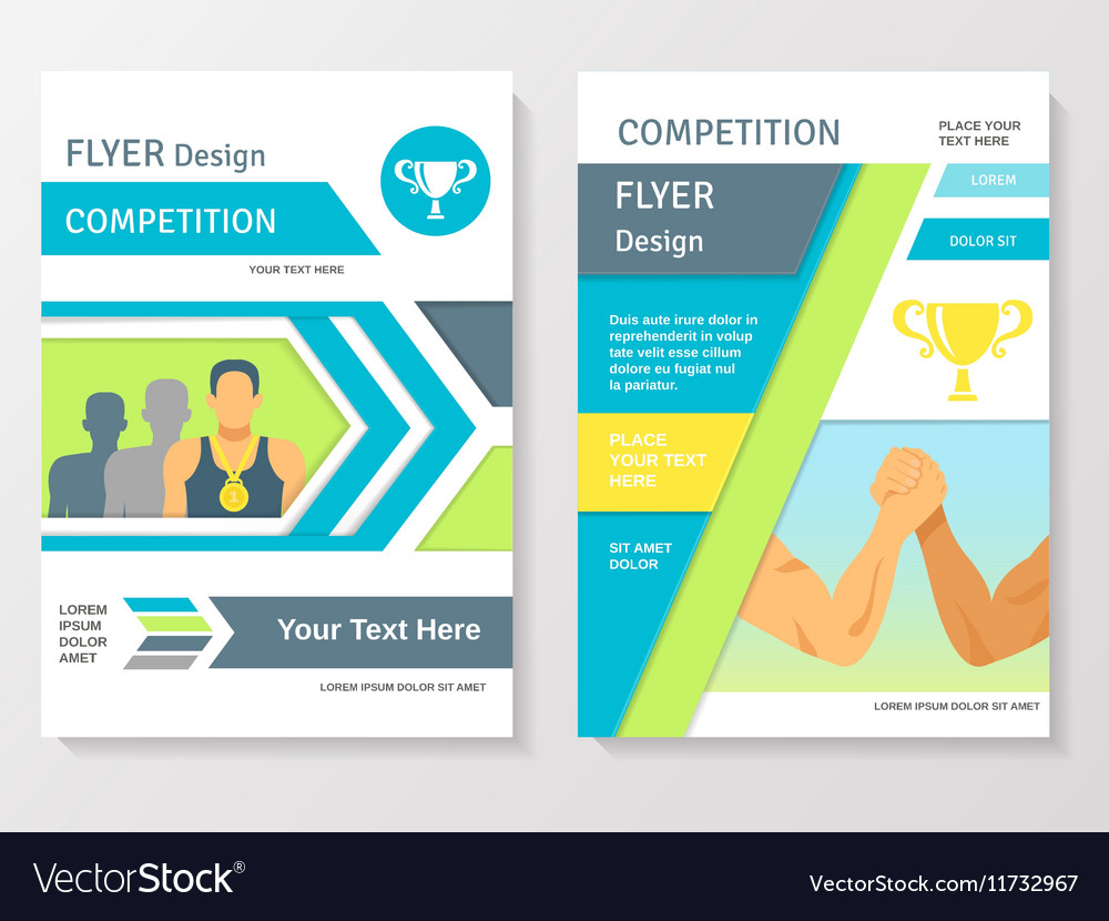 competition flyer template free