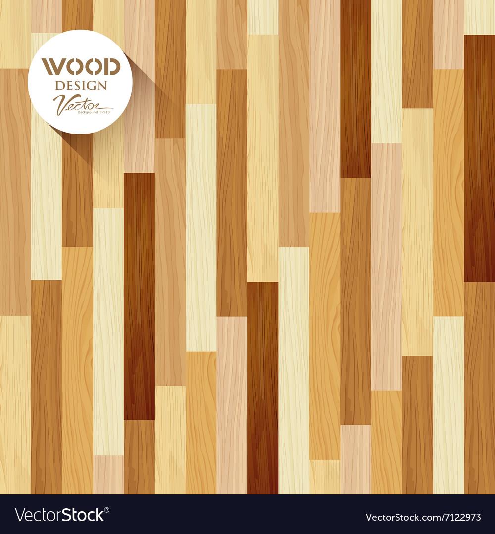 Wood floor striped vertical concept vector image