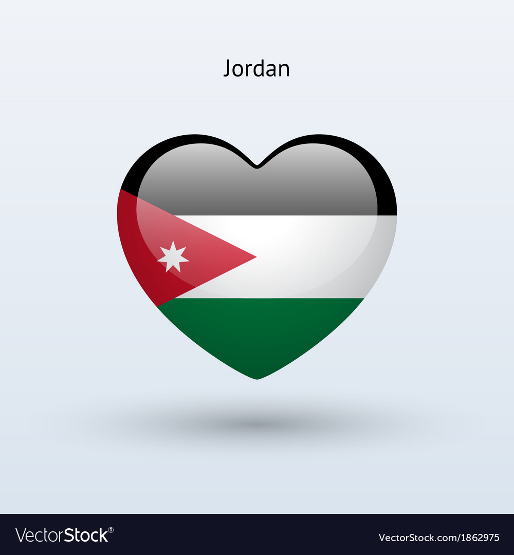 Love jordan symbol heart flag icon royalty free vector image love jordan symbol heart flag icon vector image voltagebd Choice Image