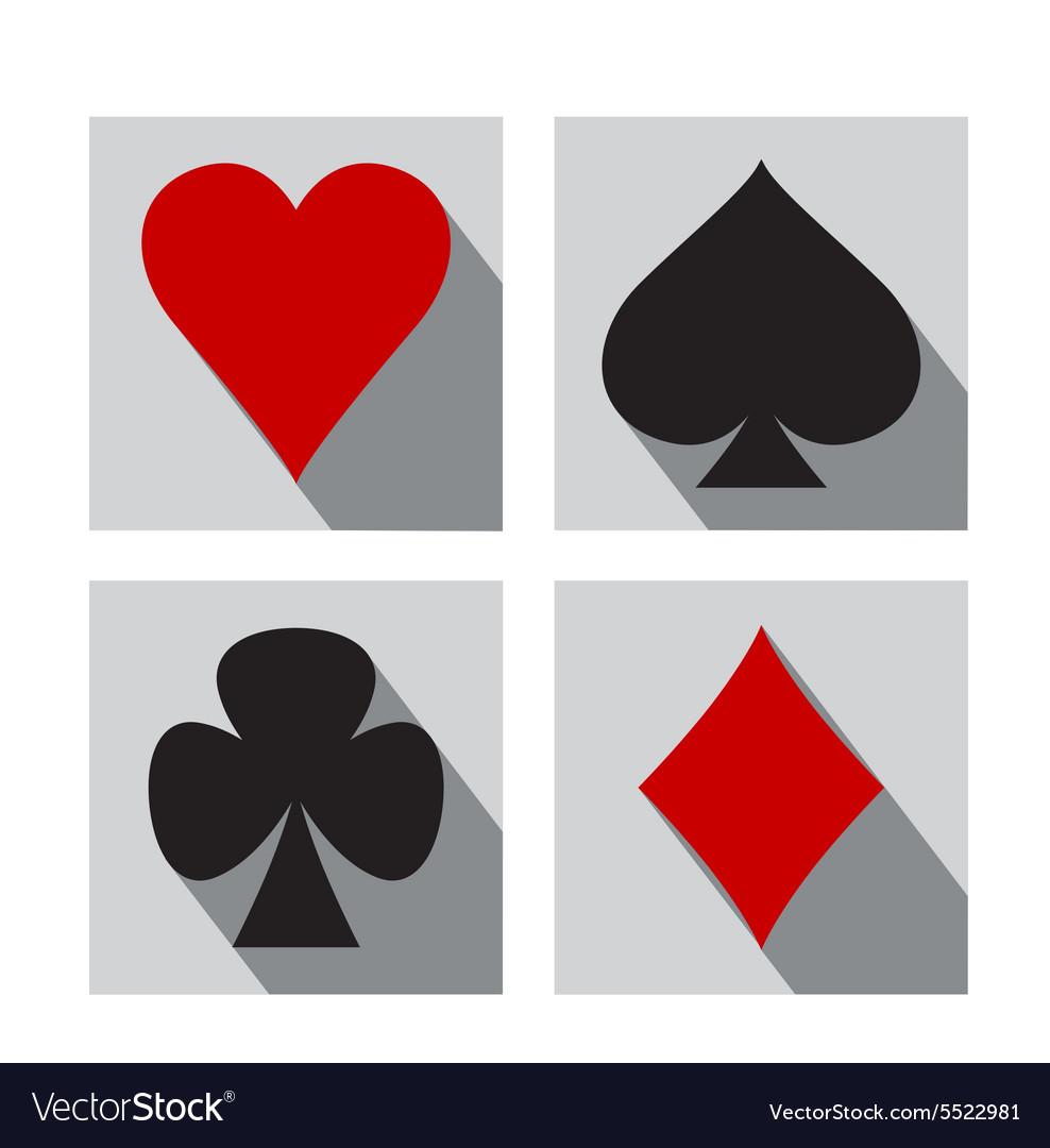 Playing card symbols royalty free vector image playing card symbols vector image biocorpaavc