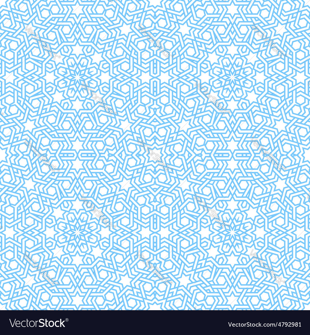 Tangled modern pattern based arabic Royalty Free Vector for Modern Arabic Pattern Vector  34eri