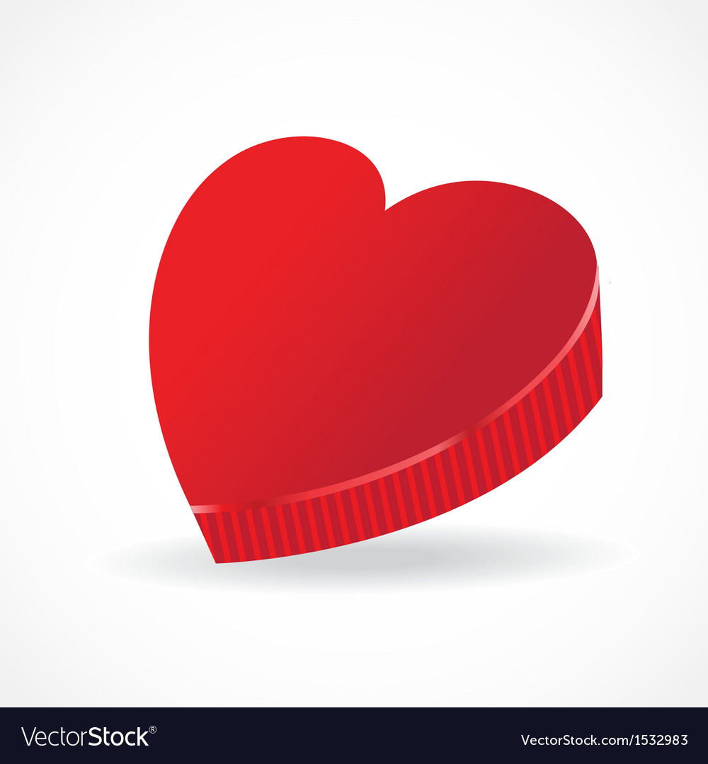 Ift for Valentine Day vector image