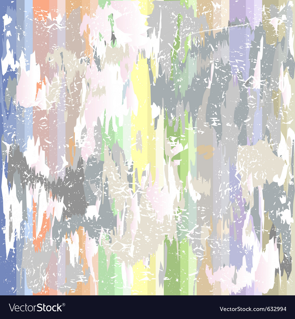 Grunge background with colorful spots vector image