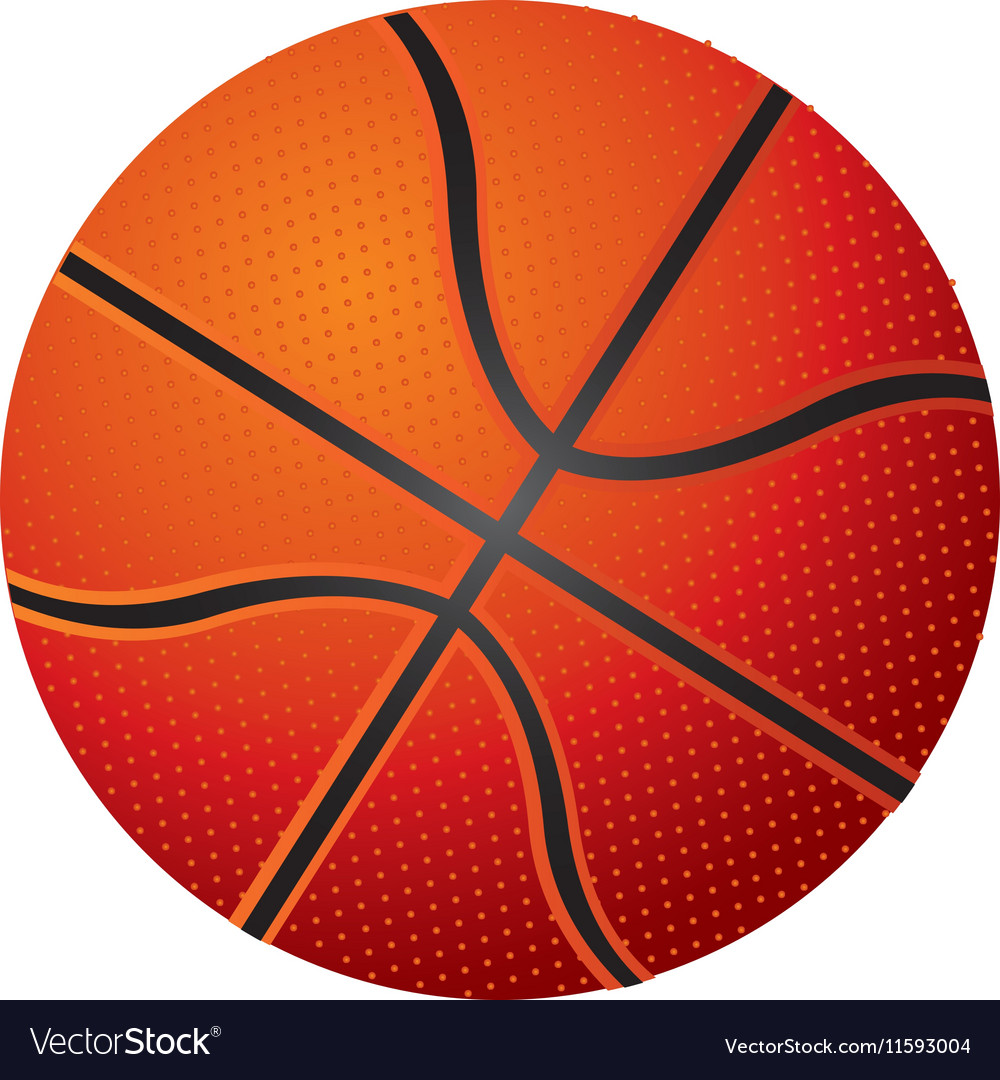 Basketball ball icon image vector image