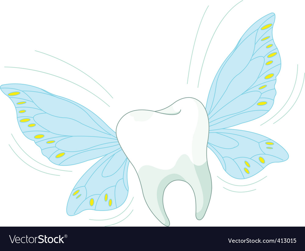 Toothy fly vector image