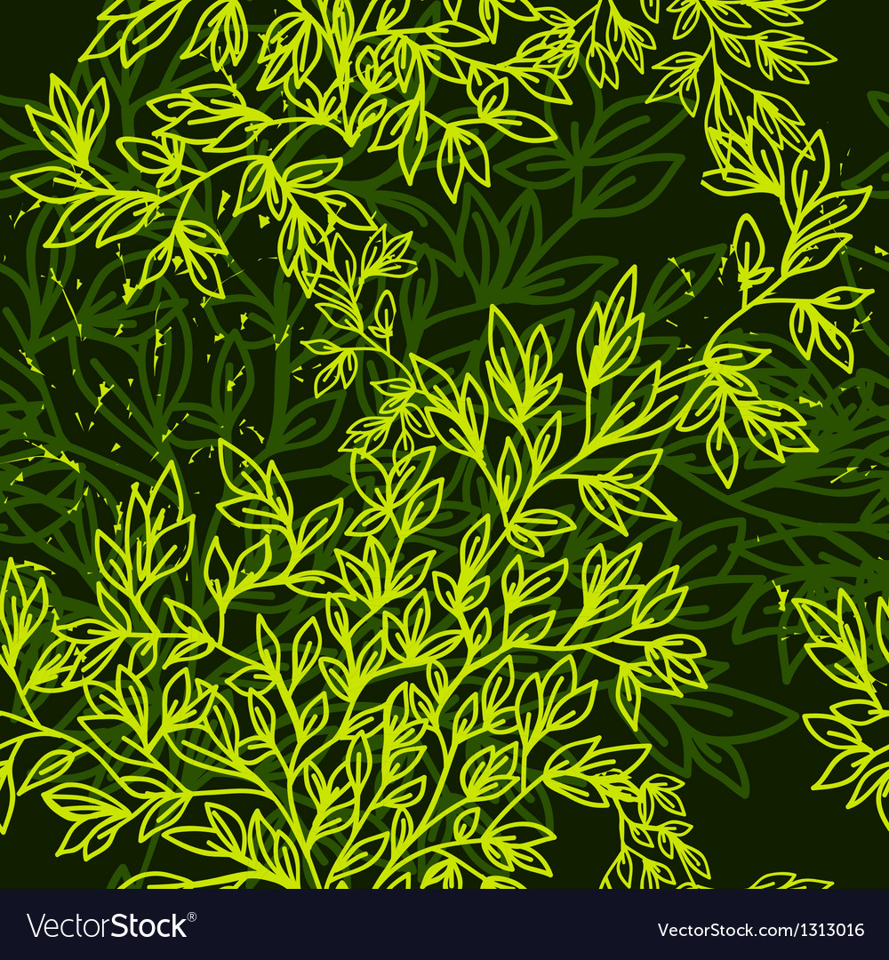 Green pattern Vector Image