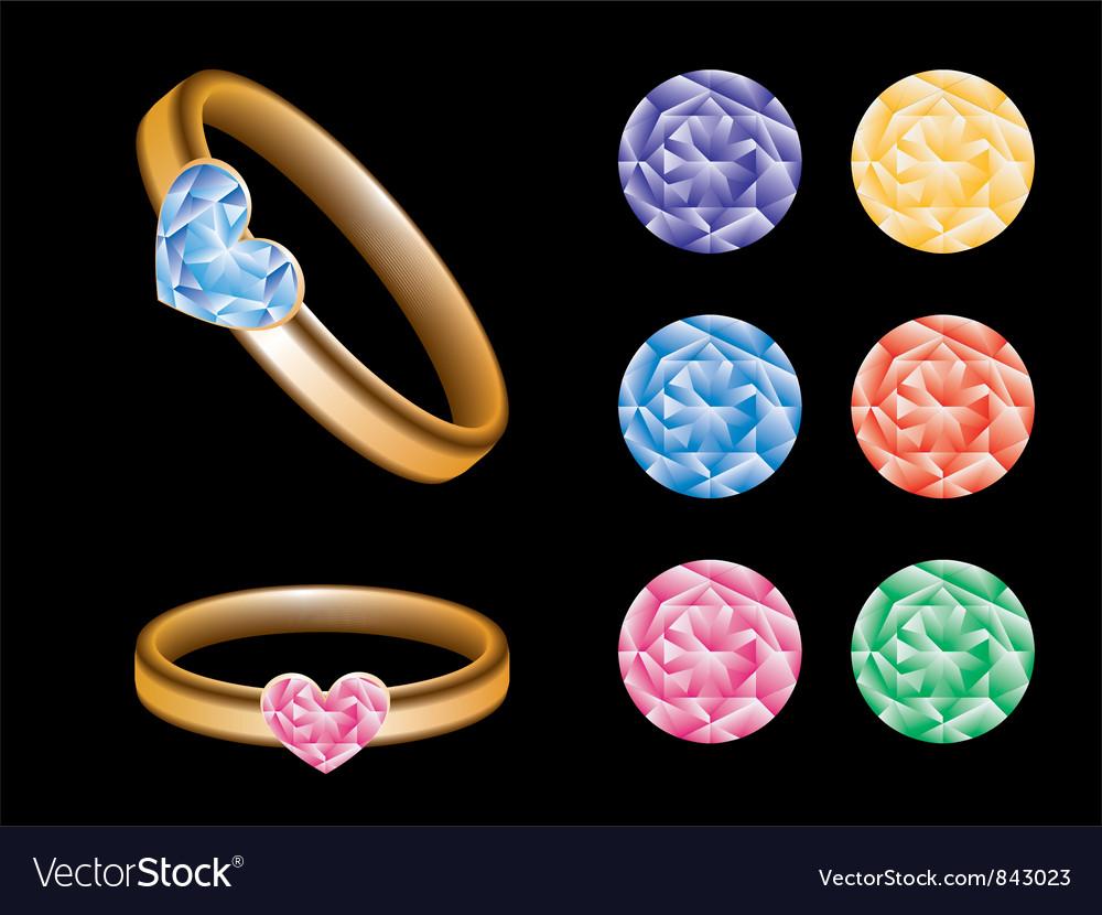 Jewellery vector image